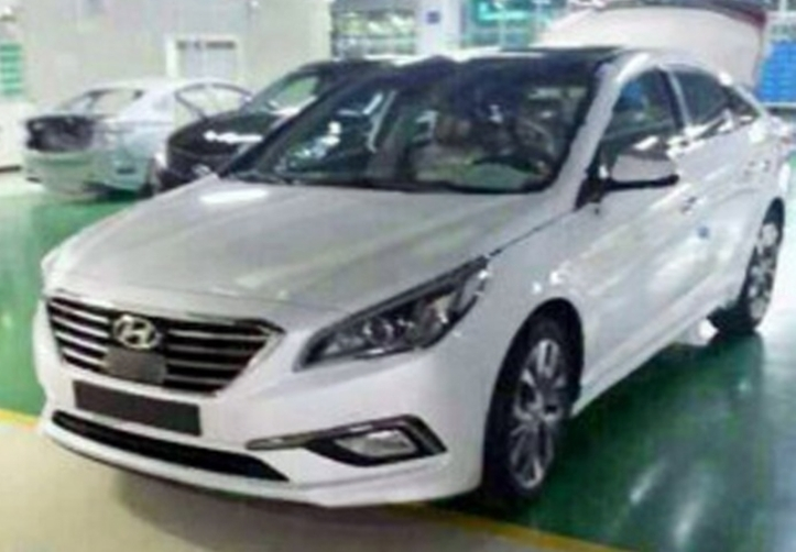 2015 Hyundai Sonata leak from the factory from headlightmag.com