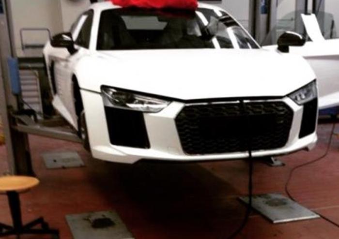 Audi R8 Spyshot