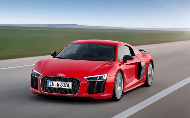 2016 Audi R8 official image