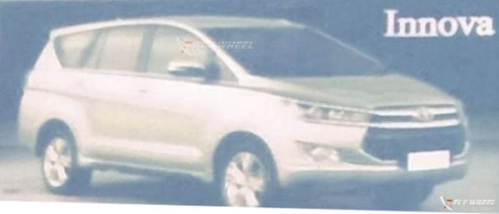 รูปหลุด Toyota Innova รุ่นใหม่ที่ใกล้จะเปิดตัวในอินโดนีเซียตลอดหลักของมันในเร็ววันนี้ จาก headlightmag.com