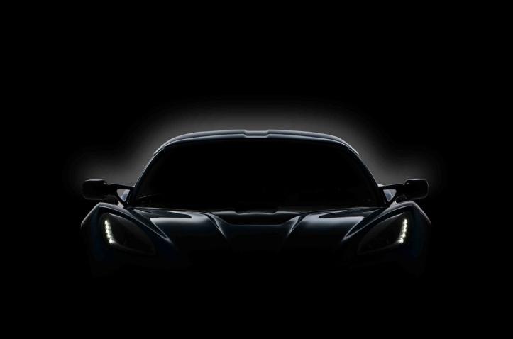 Chevrolet Corvette C7 teaser shot